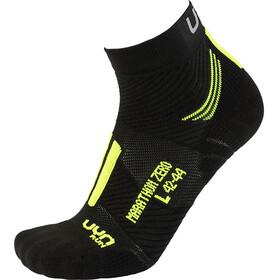 UYN Run Marathon Zero Skarpetki Mężczyźni, czarny/żółty